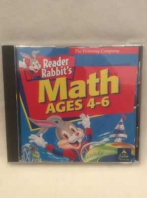 PC Game The Learning Company Reader Rabbit Math Ages 4 - 6