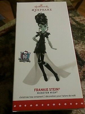New Hallmark 2015 Keepsake FRANKIE STEIN Monster High Christmas Ornament New