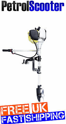 Outboard Motor 1.2HP 38cc 4T Honda GX35 Style Dinghy Fishing Inflatable Boat