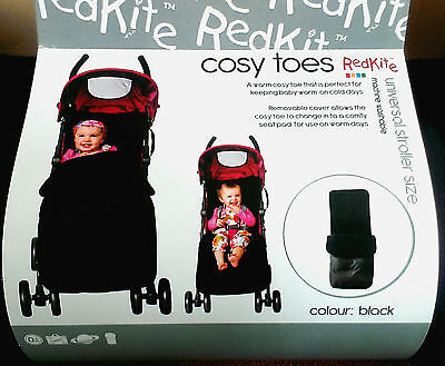 Red Kite Universal Cosy Toes Pushchair & Stroller Footmuff - Black