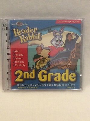 PC Game The Learning Company Reader Rabbit 2nd Grade Math & Reading