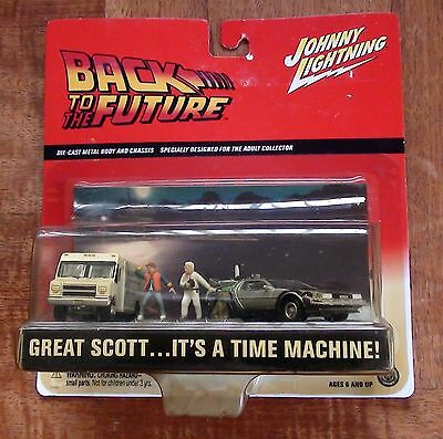 Back To The Future Set Diecast Scale 1/64