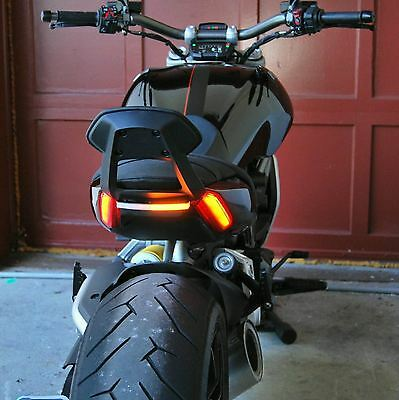 Ducati XDiavel Rear Turn Signals (Backrest Compatible) - New Rage Cycles