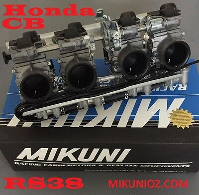 Honda CB1100, Honda CB900, CB750 Mikuni Carburetor RS38 Race Engine Kit