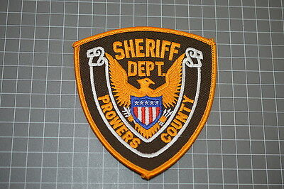 Prowers County Colorado Sheriff Department Patch (B17)