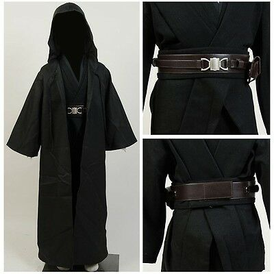 Star Wars Sith Lord Anakin Skywalker Halloween Cosplay Costume Kids Child Outfit