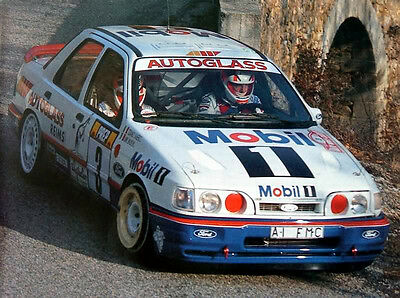 Ford Sierra RS Cosworth Group A - Rallye Aufbauanleitung Preparation Motorsport
