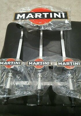 Martini Triple Optic Stand With Optics Home Pub/bar/mancave Brand New Item
