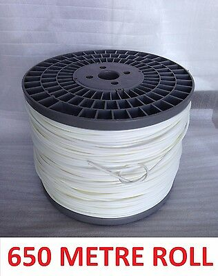 HORSE / EQUINE SIGHT / SIGHTER SITA NYLON WIRE 4mm x 650 METRES ROLL
