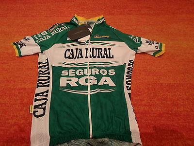 caja rural cycling jersey aero INVERSE MAILLOT NEW 2014 CICLISMO bike