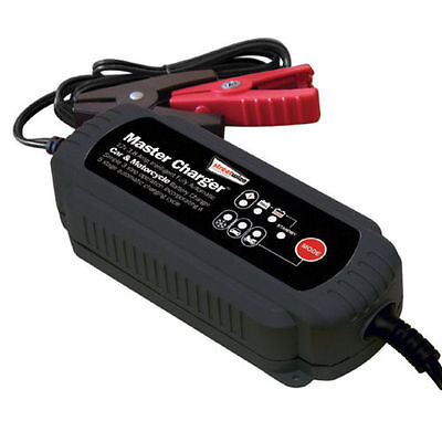 Streetwize 12v 3.8Amp intelligent fully automatic car & motorcycle battery 4