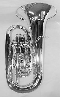 Besson BE982 Sovereign EEb Tuba in Silver Plate (Pre-owned)