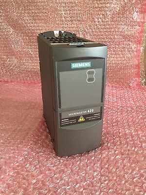 SIEMENS MICROMASTER 420 6SE6420-2UD15-5AAO Automation/ Electronic