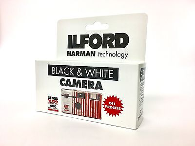 Ilford XP2 B+W Disposable Camera with Flash
