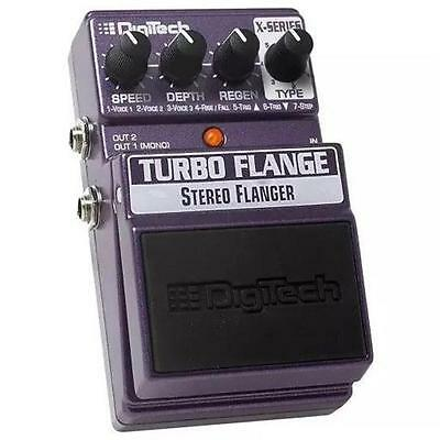 DIGITECH X-Series Turbo Flange Stereo Flanger Guitar Effects Pedal
