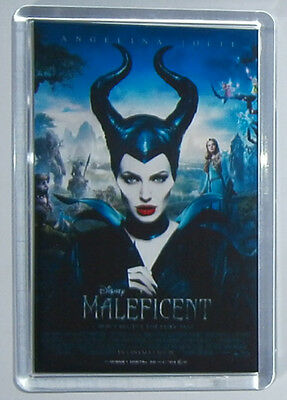 Maleficent Angelina Jolie movie poster fridge magnet New Sharlto Copley