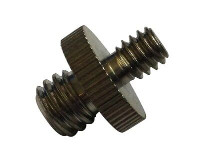 "1/4"" to 3/8"" inch screw adapter for camera equipment and tripods - UK seller"