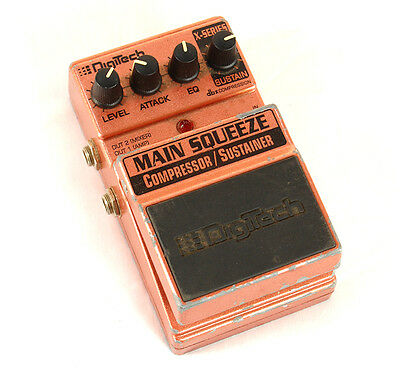 DIGITECH X-SeriesMain Squeeze Compressor/Sustainer Guitar Effects Pedal