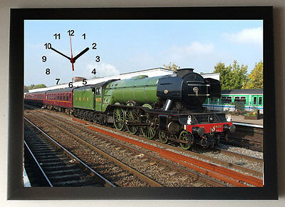 Flying Scotsman A4 Picture Clock