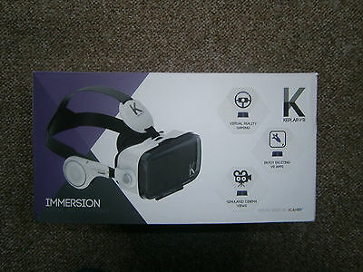 Keplar-VR Immersion goggles. Smartphone virtual reality headset. Brand new