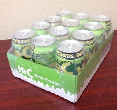 Hi-C ECTO COOLER 12-PACK CANS Ghostbusters Limited Edition Color-Changing