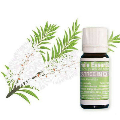 Huiles essentielles de Tea Tree BIO 10 ml pure et naturelle garantie HECT Top1