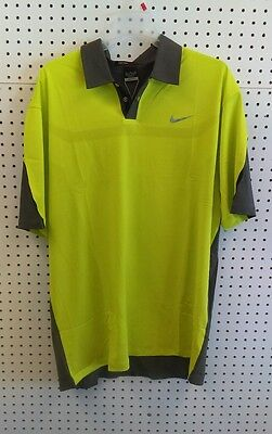Mens NIKE Tiger Woods Golf Shirt M