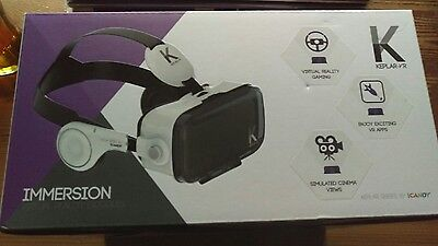 Keplar-VR immersion virtual reality goggles Brand New