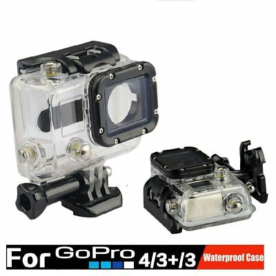 Waterproof Underwater Hard Case Cover Dive Stand Housing For Gopro hero3 3+ 4
