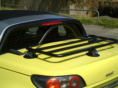 Smart Roadster Luggage Rack ; No Clamps No Brackets No Damage
