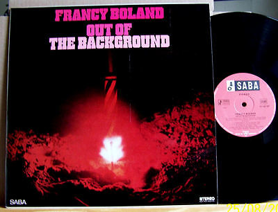 Fancy Boland - Out of the Background - 1967 DE Saba (Tree)  SB 15137 ST   LP m-