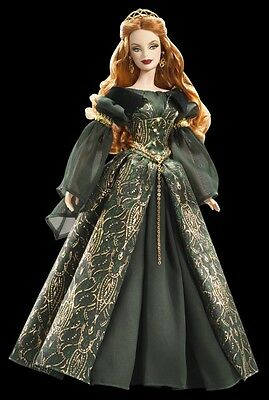 RAR!Barbie Collector Aine  Legends of Ireland Collection NRFB