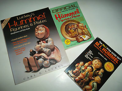 LOT Official Hummel Figurines Plates Collector's Identification Price Guide Book
