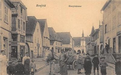 Cpa 67 Benfeld Hauptstrasse (Belle Cpa