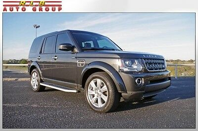 "2015 Land Rover LR4 HSE 7-Seat Comfort Package 2015 LR4 HSE 7-Seat Comfort Package One Owner Low Miles Navigation 19"" Wheels"