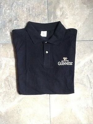 Guinness Polo T Shirt Size Large BRAND NEW