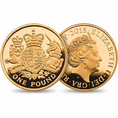 MINT BAG 20 x 2015 ROYAL ARMS £1 ONE POUND COINS UNCIRCULATED , SEALED MINT BAG