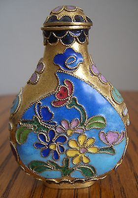 Multi-Color Chinese 2.5 Inch Snuff Bottle