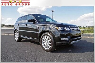 2015 Land Rover Range Rover Sport HSE V6 2015 Range Rover Sport HSE Low Miles 1 Owner Pano Roof Meridian Audio 20 Wheels