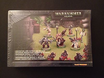 Warhammer 40K METAL Inquisitor Lord Coteaz and retinue Inquisition Daemonhunters