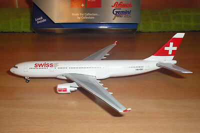1/400 scale Gemini Swiss International Airbus A330-200 HB-IQC