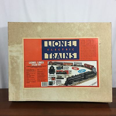 Lionel Lines Steam Train Set Electric Trains 6-11747 In Box Rugged 027 Gauge