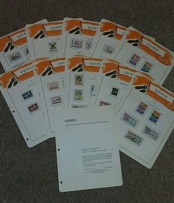 Superb Guinea collection 1959-60 complete on pages. Includes high cat Airmails.