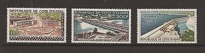 Ivory Coast 1959 Airmail Structure issues lightly mounted mint
