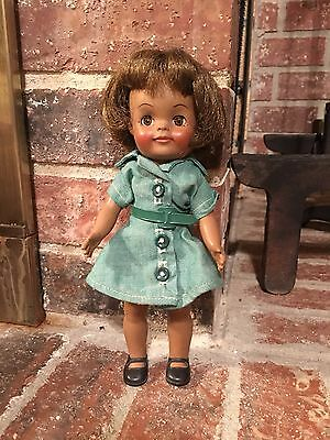 Effanbee Vintage 1965 African American Girl Scout Doll 9 in