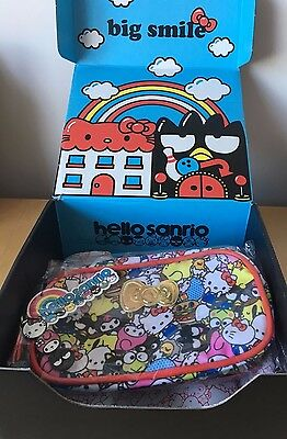 Sanrio Small Gift Loot Crate Exclusive Hello Kitty Melody Pouch Zip Bag Case