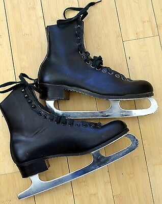 Riedell Figure Ice Skates Leather Sheffield, Never used, Men's size 8