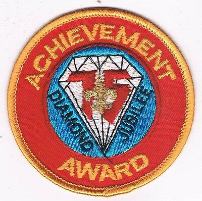 BSA Diamond Jubilee 75th Anniversary Achievement Award 301384