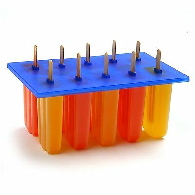 Norpro Frozen Ice Pop Maker with 24 Wooden Sticks Free Shipping