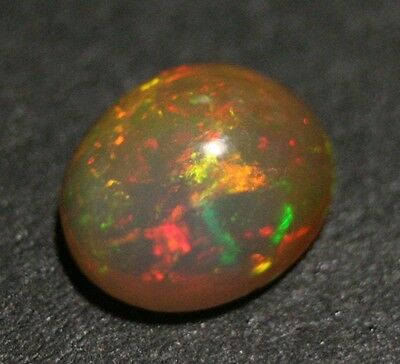 2.8ct Welo Crystal Opal Cabochon - Rainbow Fire AAA Jelly Opal - See Video